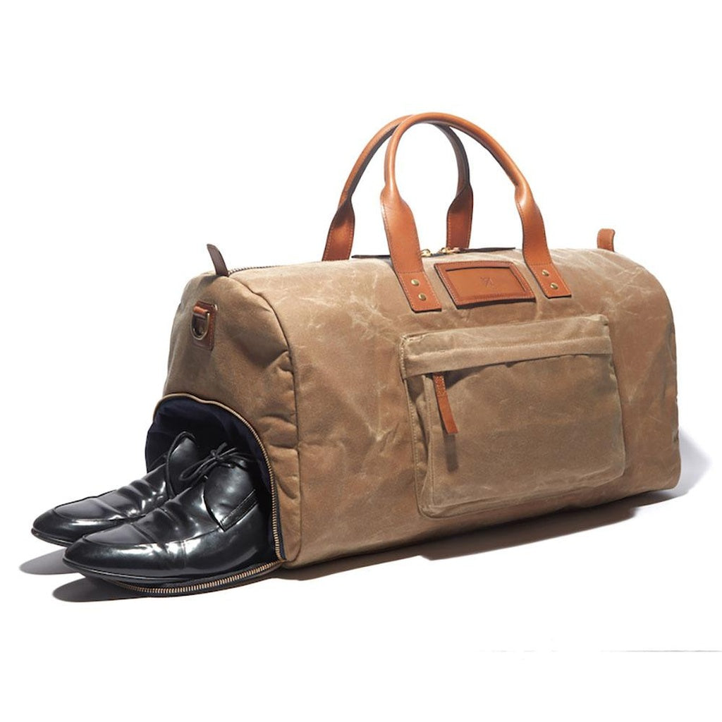 Andrews Wax Shoe Duffel - Alluforu
