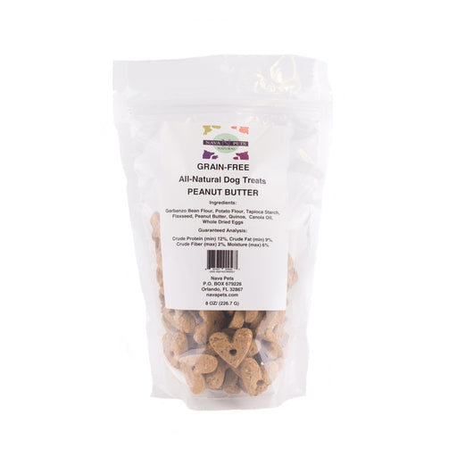 All Natural Dog Treats Grain Free Peanut Butter - Alluforu
