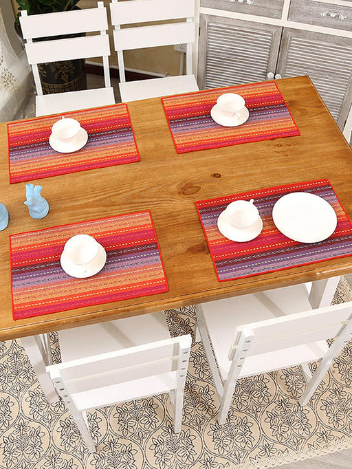 Plait Striped Placemat 1pc
