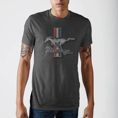 Ford Mustang Heather T-Shirt - Alluforu
