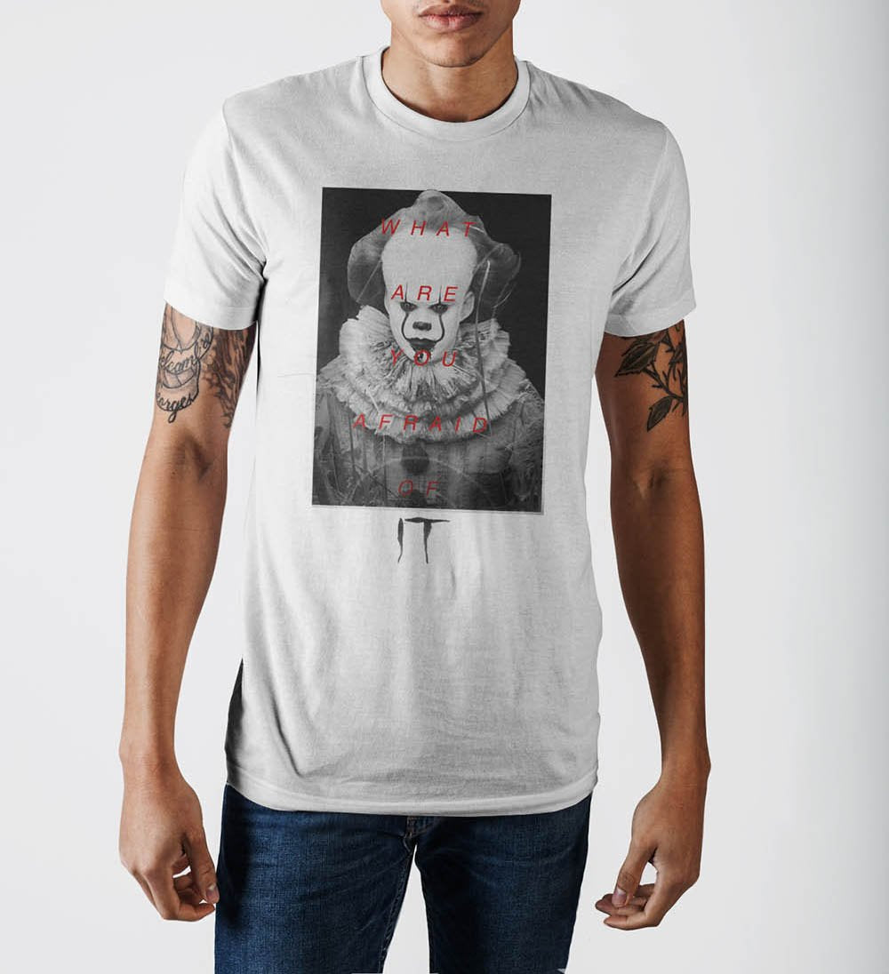 It What Are You Afraid Of T-Shirt - Alluforu