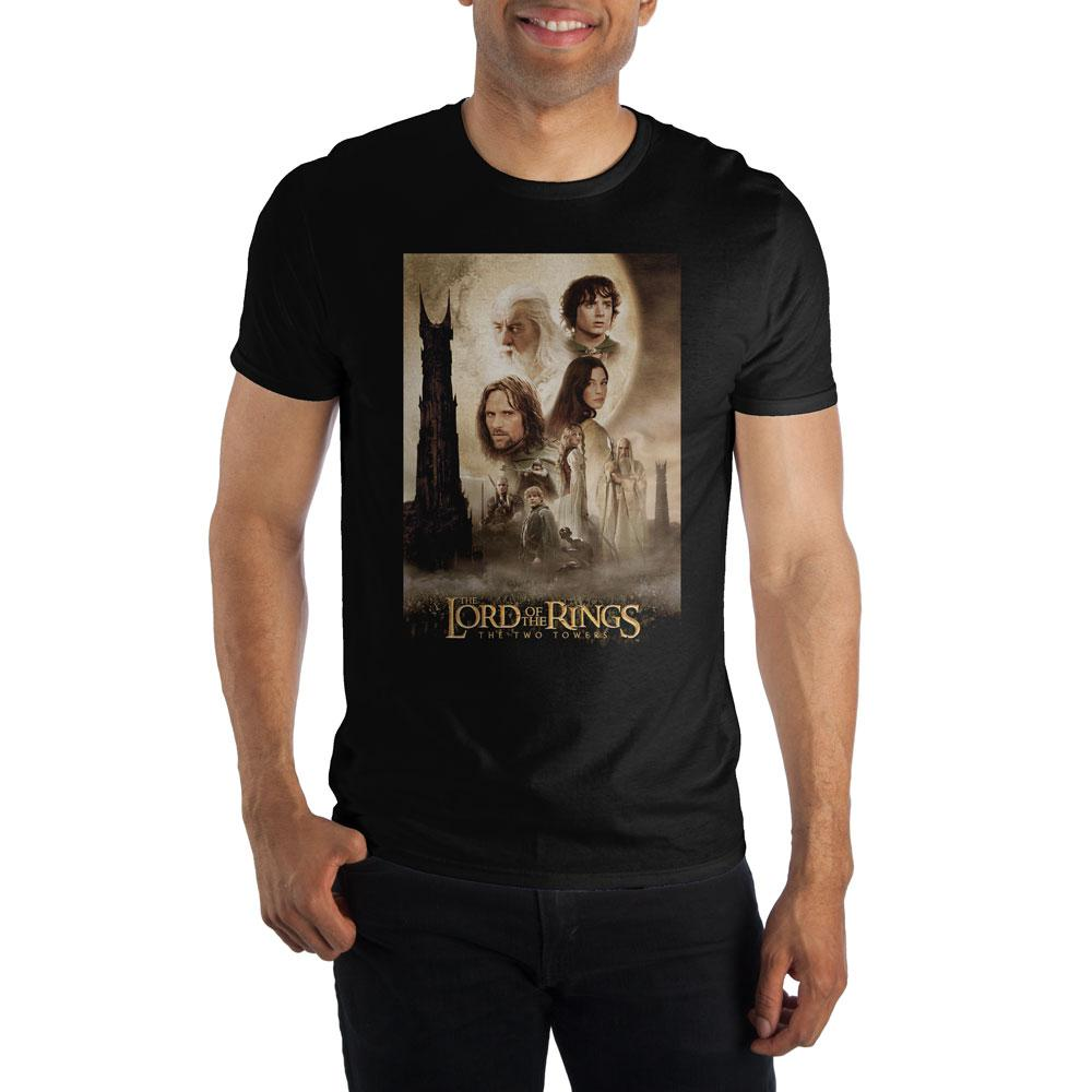 Lord of the Rings The Two Towers Character Shirt, - Alluforu