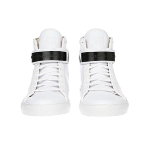 CLASSIC HIGH TOP WOMEN | MATTE BLACK | WHITE - Alluforu