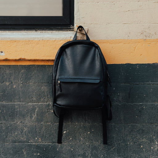 Tucker Vegan Leather Backpack - Alluforu
