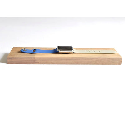 Apple Watch ' Elegance ' Stand / Dock - Walnut - Alluforu