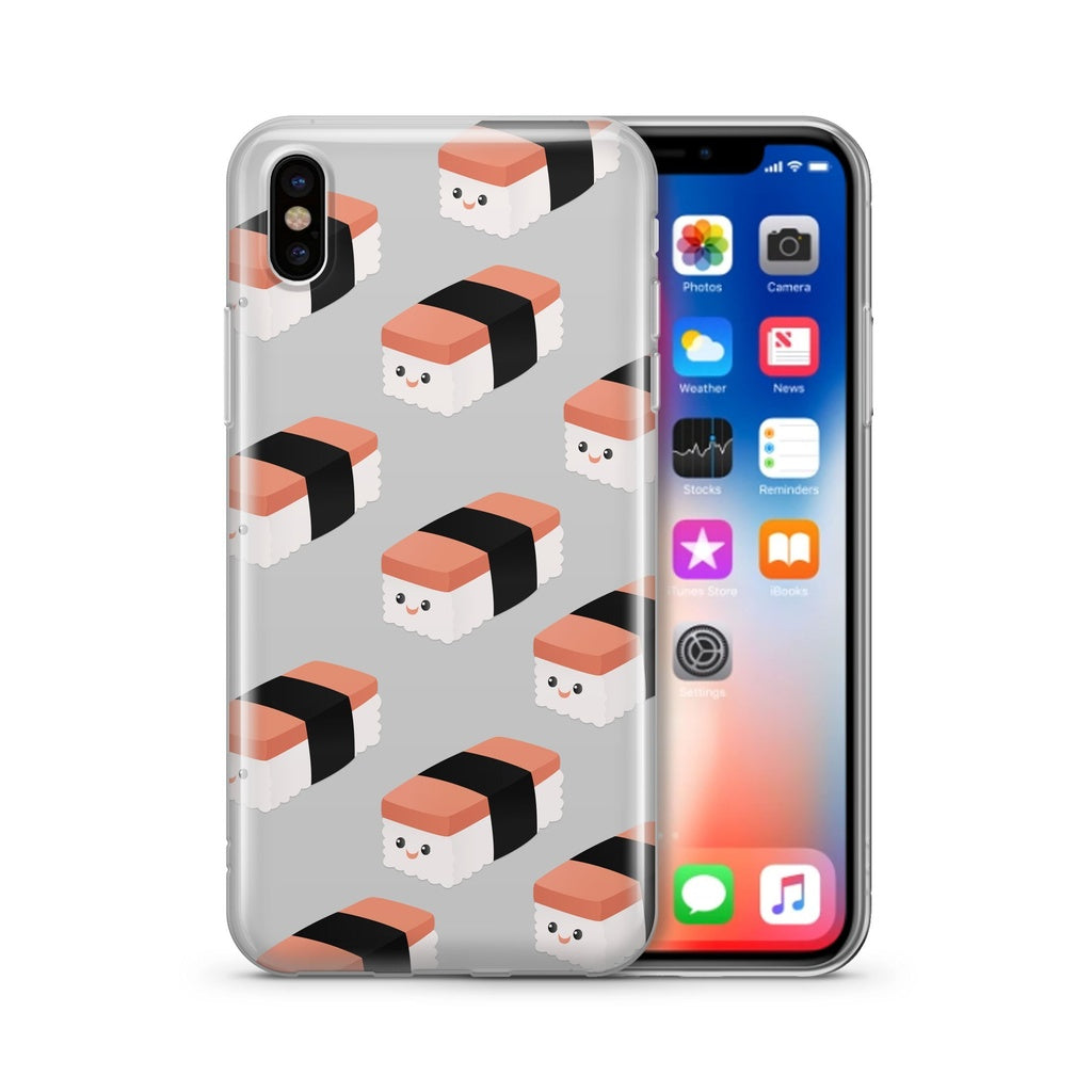 Spam Musubi - Clear Case Cover - Alluforu