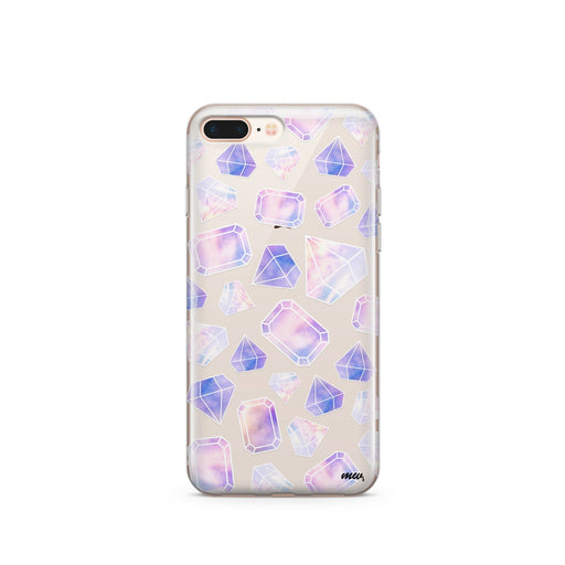 Sky Diamonds (@okitssteph x @milkywaycases) - Clear Case Cover - Alluforu