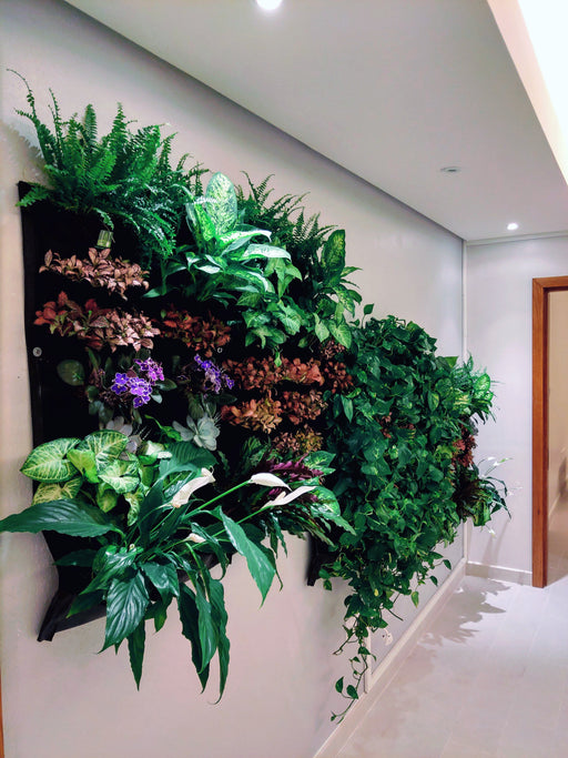 12 Pocket Indoor Waterproof Vertical Living Wall Planter - Alluforu