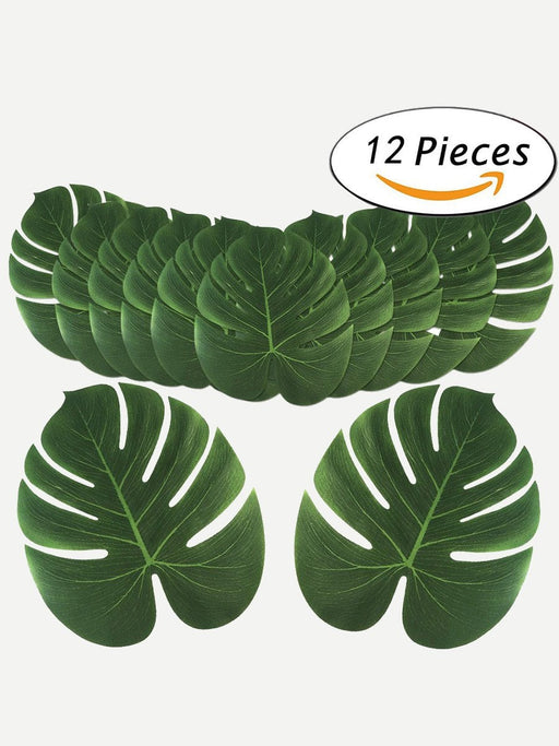 Turtle Leaf Design Placemat 12pcs