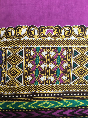 Casanova African Print Dashiki Top bottom