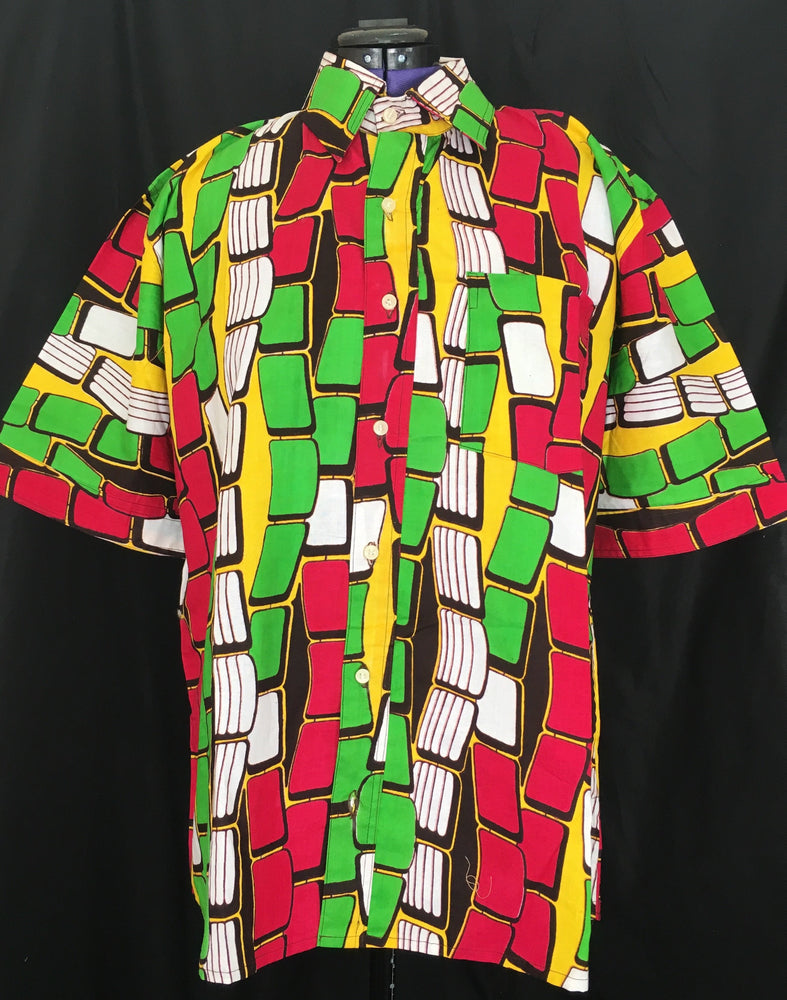 Fresh Prince Button Up Top - Alluforu