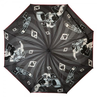 DC Comics Harley Quinn Liquid Reactive Umbrella - Alluforu