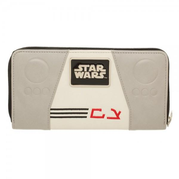Star Wars AT-AT Driver Zip Around Wallet - Alluforu