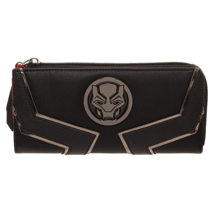 Black Panther L-Zip Wallet - Alluforu