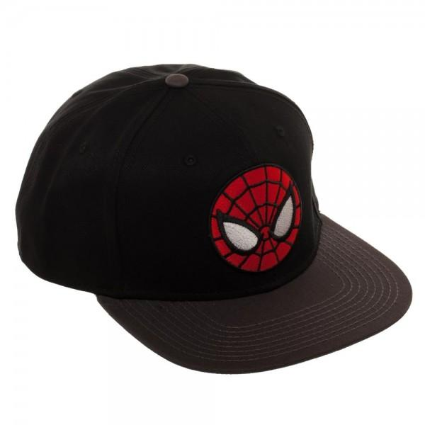Ultimate Spiderman Black Snapback - Alluforu