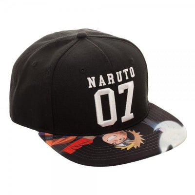 Naruto Sublimated Bill Snapback - Alluforu