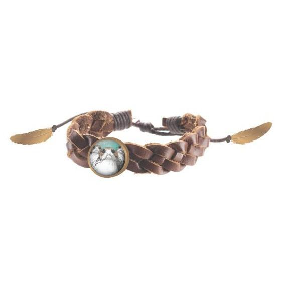 STW- Episode 9 Braided Leather Bracelet - Alluforu