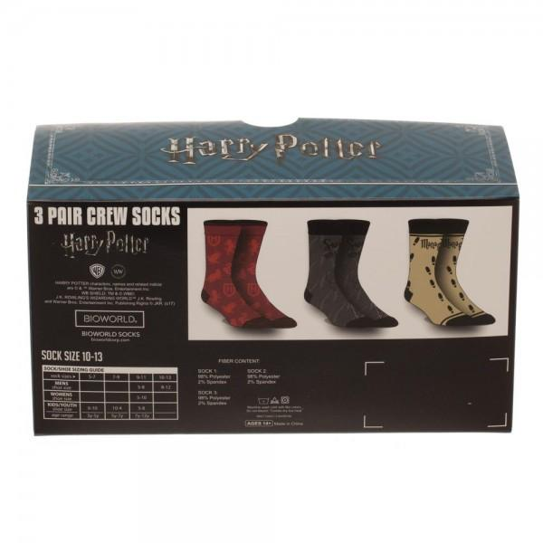 Harry Potter 3 Pack Crew Set - Alluforu