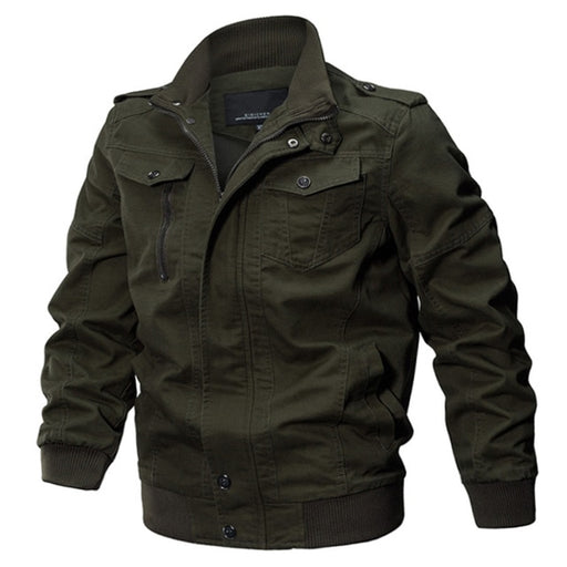 Winter Pilot Cargo Jacket - Alluforu