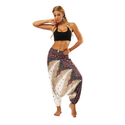 Loose Boho Harem Pants