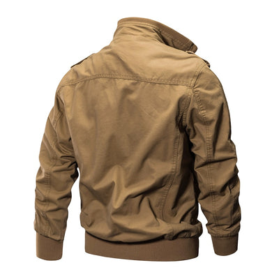 Cotton Bomber Pilot Jacket