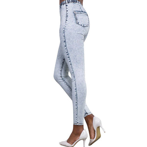 Snowflake Denim Wash Lifting Jeans