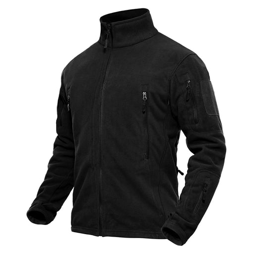 Casual Thermal Fleece Jacket - Alluforu