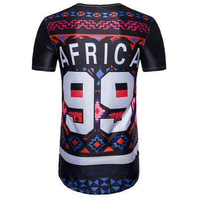 Africa No.99 Soccer Summer T-shirt