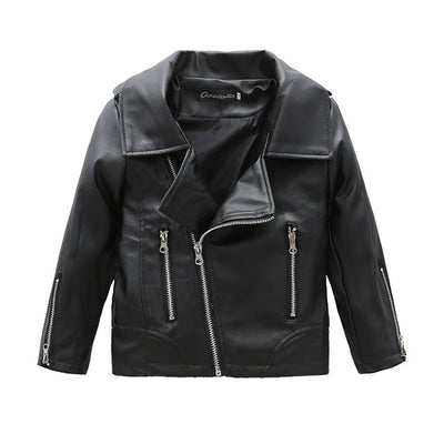 PU Leather Jacket 2T-0T