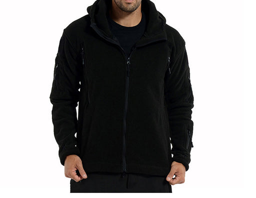 Military Fleece Hooded Thermal Jackets - Alluforu
