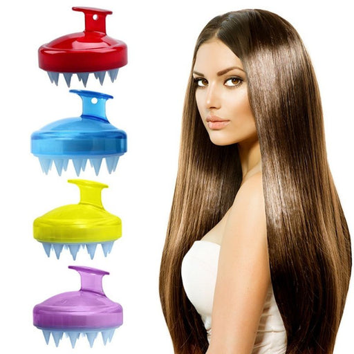 Silicone Hair Washing Brush - Alluforu