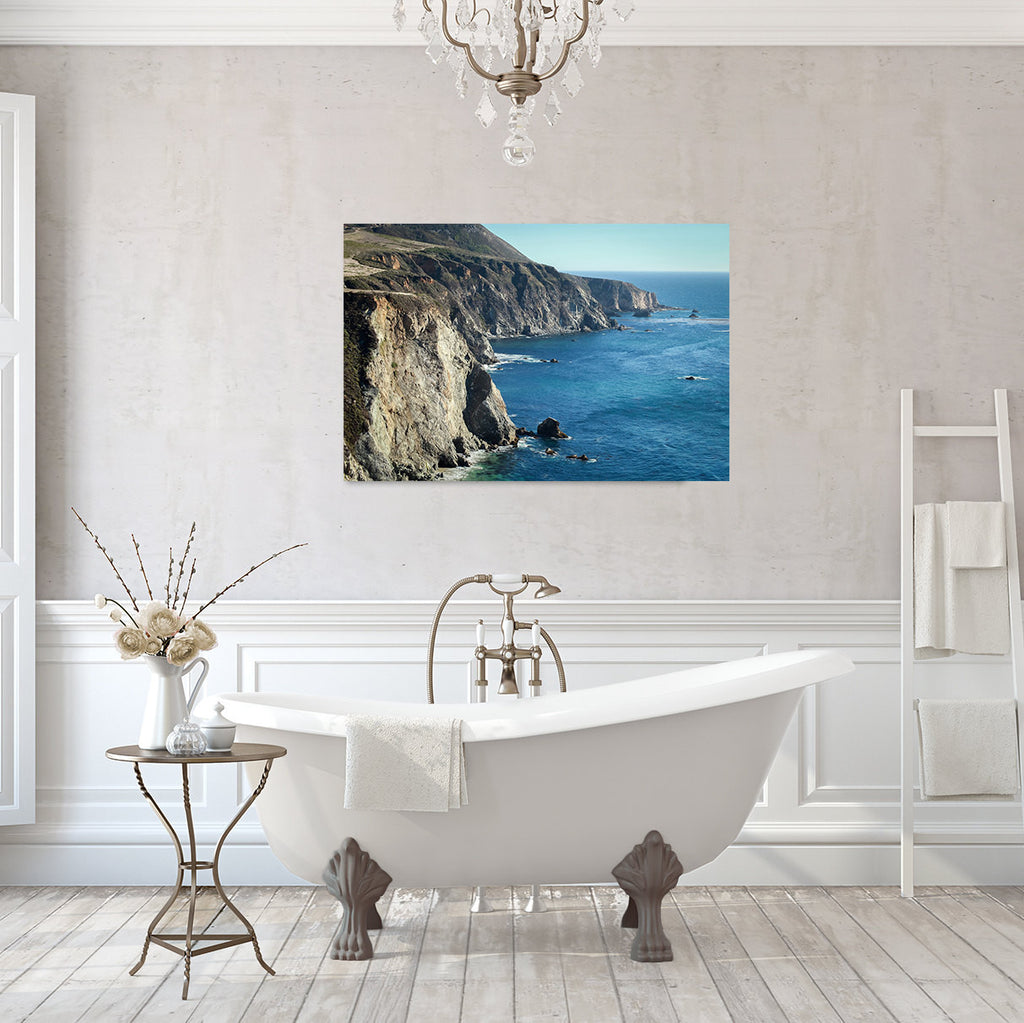 Big Sur California - Ready to Hang Gallery Wrapped Canvas Art - april bern photography