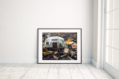 Adventure Gnome Fine Art Print - april bern photography