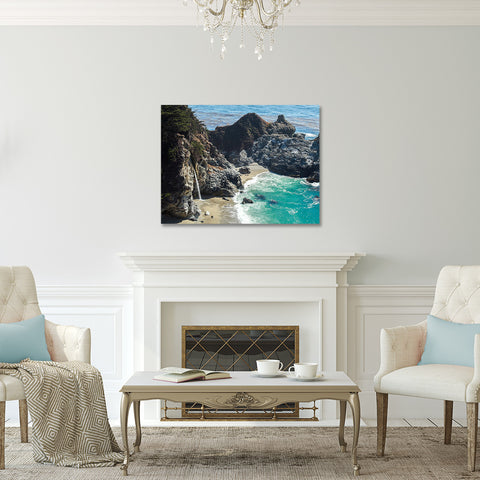 Ready to Hang Art - Big Sur Gallery Wrapped Canvas