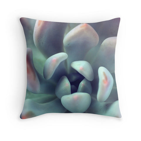 Succulent Throw Pillow Cover