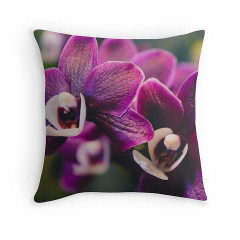 Orchid Home Decor - Throw Pillow