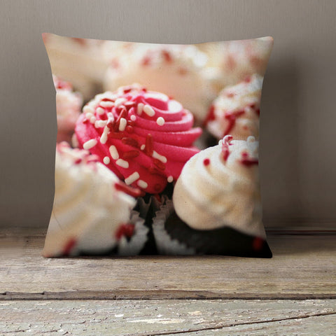 Cupcake Decorative Throw Pillow Cover