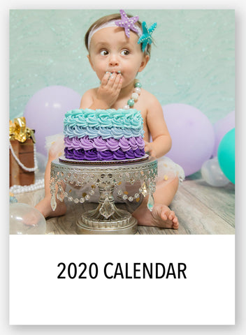 2020 5x7 Desk Calendar Template- Instant Download - april bern art & photography