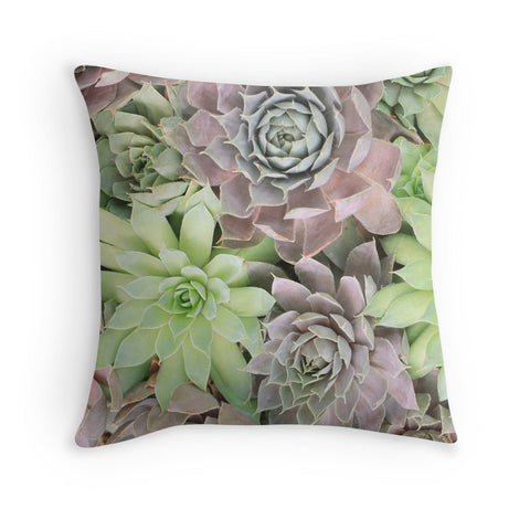 Succulent Fine Art Photo Pillow Case