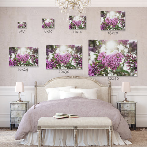 lilac fine art prints are available in a variety of popular sizes