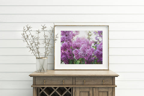 Lilac Printable Wall Art