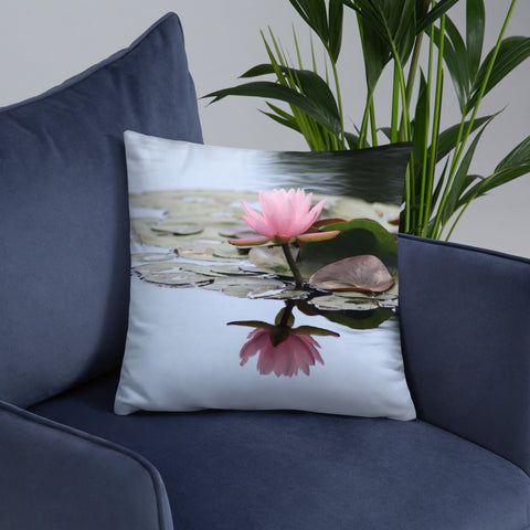 Waterlily Decorative Throw Pillow