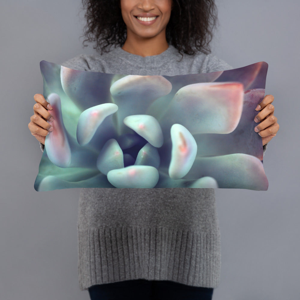 Succulent Throw Pillow - april bern art & photography