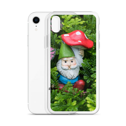 Garden Gnome iPhone Case - april bern art & photography
