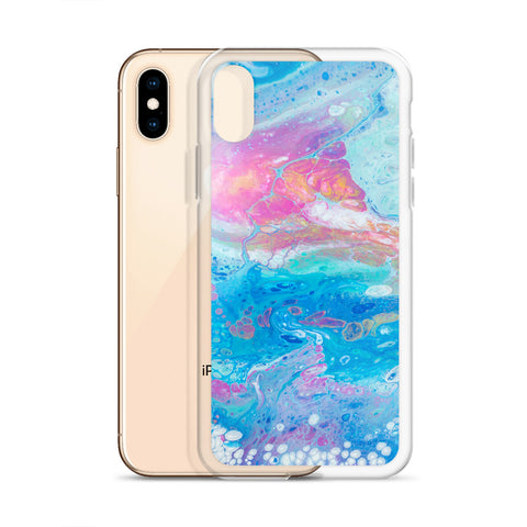 Abstract Galaxy iPhone Case