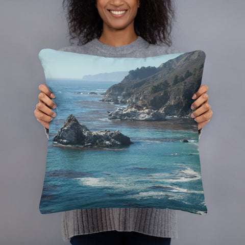 Big Sur Throw Pillow