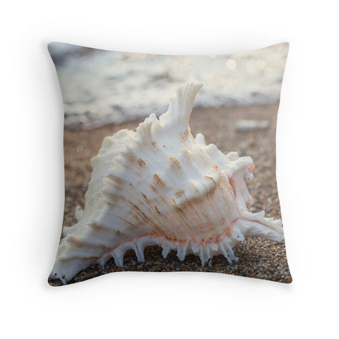 Seashell (no 2.) Decorative Throw Pillow - april bern photography