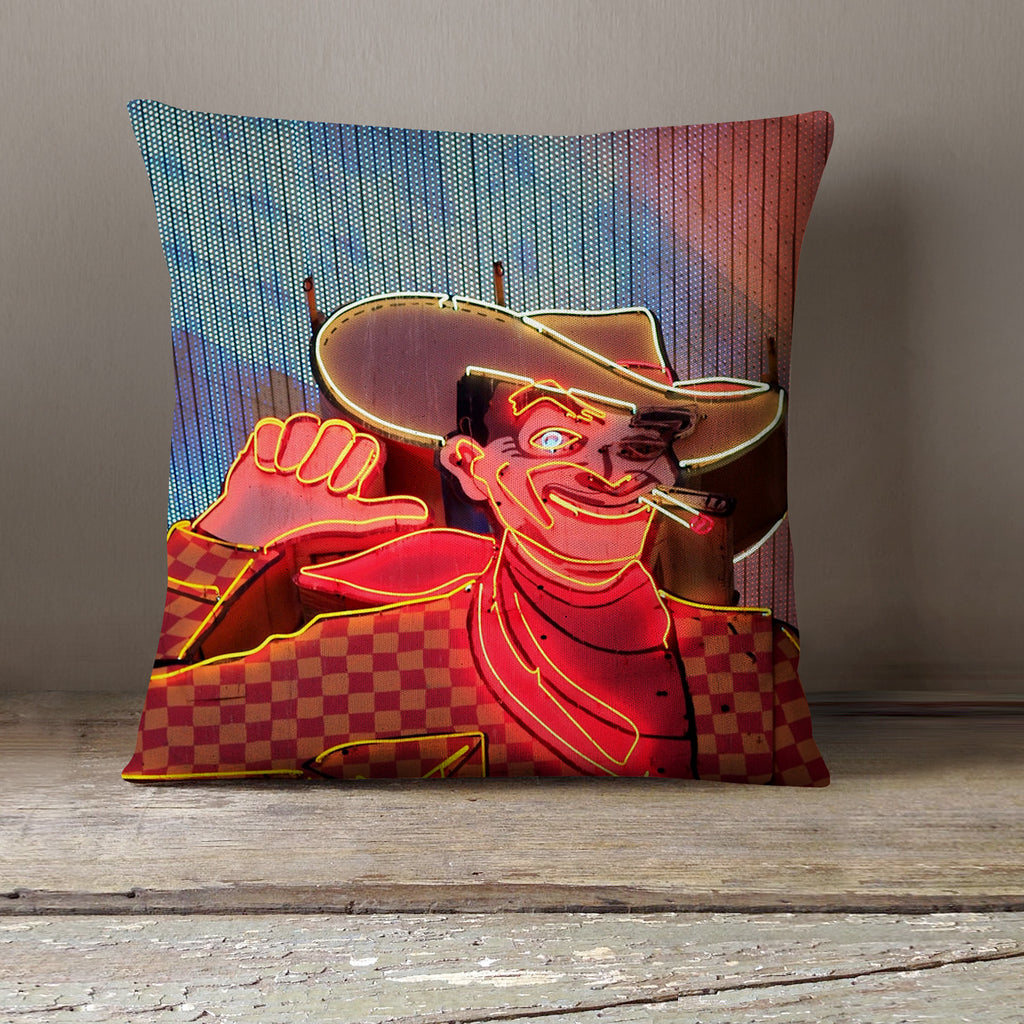Las Vegas Decorative Pillow Cover - Vegas Home Decor - april bern photography