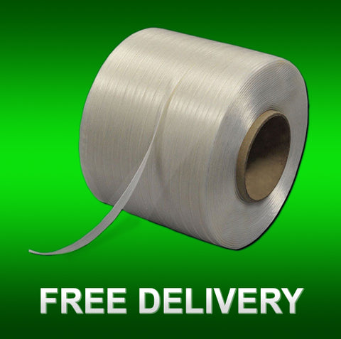 Baling Tape, 13mm x 500M, 4 Roll: €102 per Box / €25.50 per Roll / €0.051 per Metre