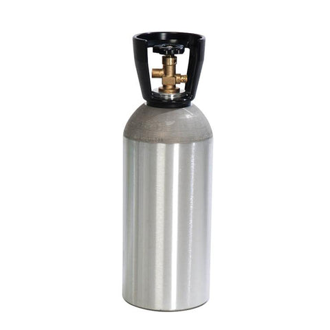 10 Lb. Aluminum CO2 Cylinder w/handle (brand new unfilled/empty)